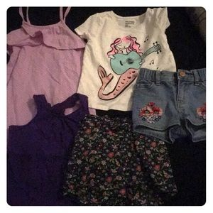 Assorted Gap Girls Clothes sizes 18-3T fit my 2 yr